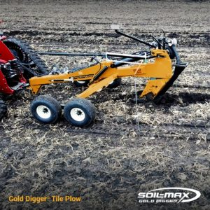 Soil-Max Gold Digger Tile Plow